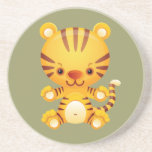 Kawaii Tiger Coaster