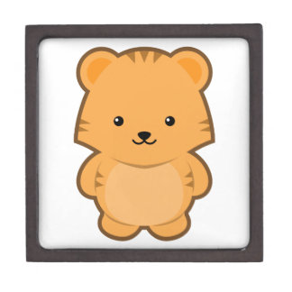 Kawaii Tiger Keepsake Box