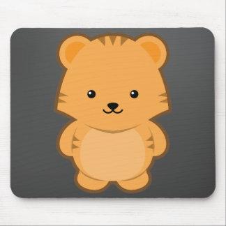 Kawaii Tiger Mouse Pad