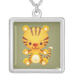 Kawaii Tiger Necklace