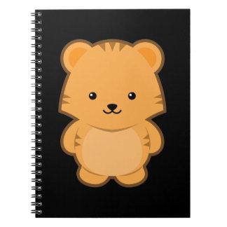 Kawaii Tiger Notebook