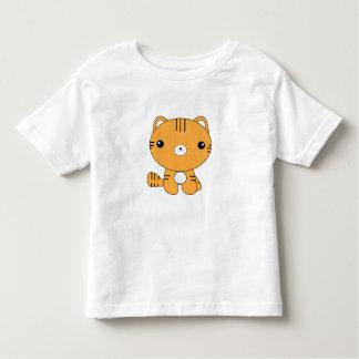 Kawaii tiger t-shirt. toddler t-shirt