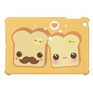 Kawaii toast couple case for the iPad mini