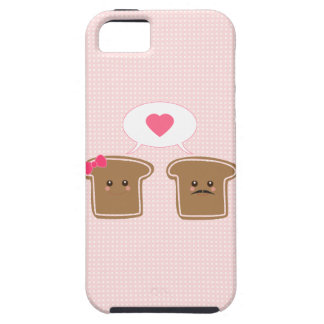 Kawaii Toast Love iPhone SE/5/5s Case