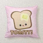 ¡Kawaii Toasty! Almohada de la tostada