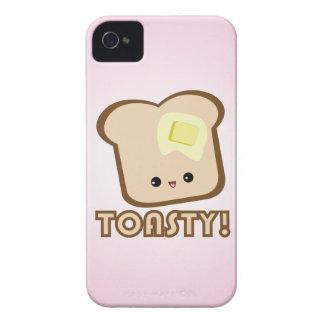 ¡Kawaii Toasty! Caso del iPhone de la tostada iPhone 4 Cárcasa