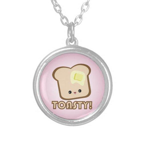 ¡Kawaii Toasty! Collar de la tostada