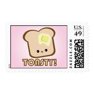 ¡Kawaii Toasty! Sellos de la tostada