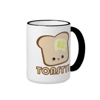 ¡Kawaii Toasty! Taza de la tostada