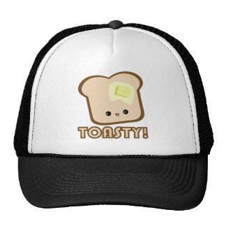 Kawaii Toasty! Toast hat
