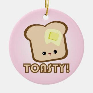 Kawaii Toasty! Toast ornament