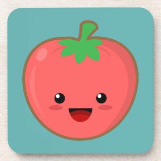 Kawaii Tomato Beverage Coaster