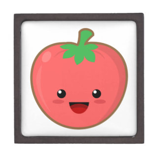 Kawaii Tomato Jewelry Box