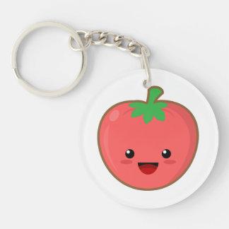 Kawaii Tomato Keychain