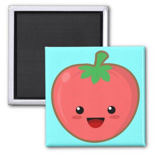 Kawaii Tomato Magnet