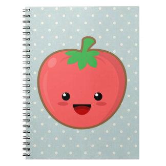 Kawaii Tomato Notebook