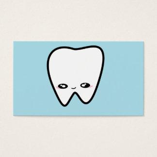 Kawaii Tooth Dentist Kids Hygienist Medical Business Card