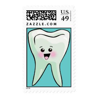 Kawaii Tooth Stamps
