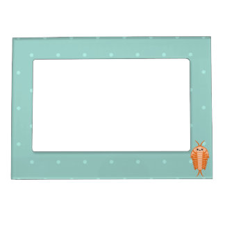 Kawaii trilobite magnetic picture frame