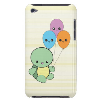 Kawaii Turtle with Balloons iPod Touch case