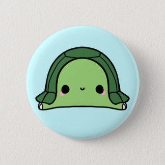Kawaii Turtle (You change the Background!) Button
