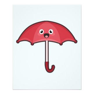 """Kawaii Umbrella 4.5"""" X 5.6"""" Flyer"""