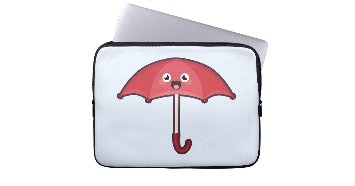 Kawaii Umbrella Laptop Sleeves Zazzle