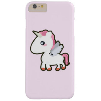 Kawaii Unicorn Barely There iPhone 6 Plus Case