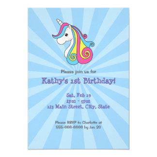 Kawaii Unicorn Card