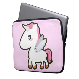 Kawaii Unicorn Laptop Computer Sleeves