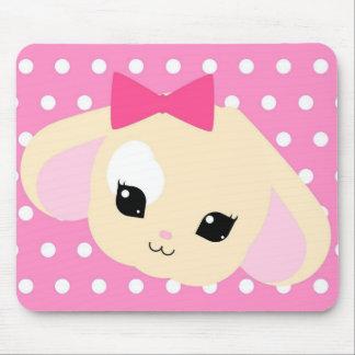 Kawaii Usagi-chan Pink Mousepad