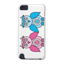 Kawaii Valentines Owls iPod Touch (5th Generation) Cover
