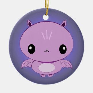 Kawaii Vampire Bat Ornament