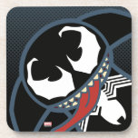 Kawaii Venom Tongue Lash Beverage Coaster