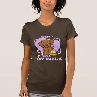Kawaii Vizsla Rally Obedience Tee Shirt