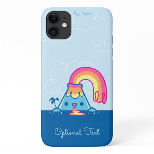 Kawaii Volcano iPhone 11 Case