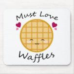 Kawaii Waffle Mouse Pad