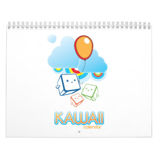 Kawaii Wall Calendar