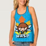 Kawaii Wasp Flying Tank Top