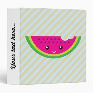 Kawaii watermelon binder