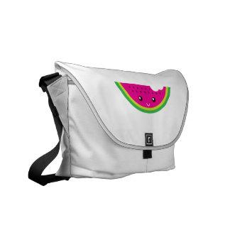 Kawaii watermelon courier bags
