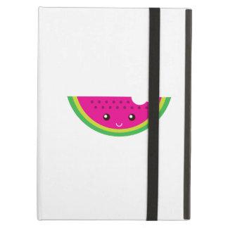Kawaii watermelon iPad folio cases