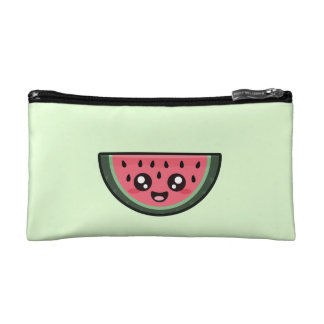 Kawaii Watermelon Makeup Bag