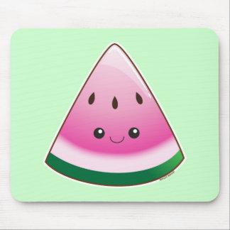 Kawaii Watermelon Mouse Pad
