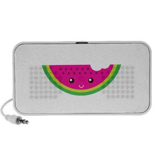 Kawaii watermelon portable speaker