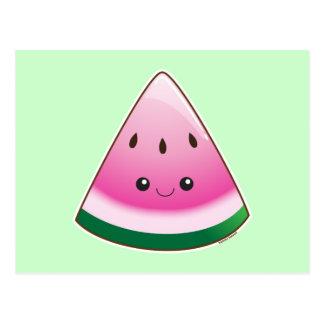 Kawaii Watermelon Postcards