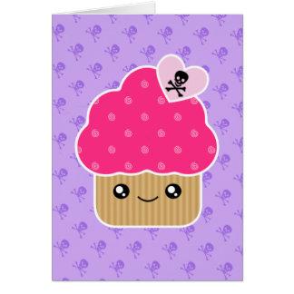 Kawaii Wicked Cute Cupcake Birthday Card