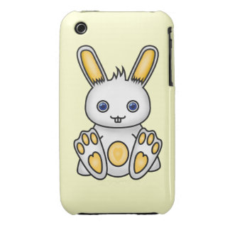 Kawaii Yellow Bunny iPhone 3 Cover