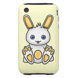 Kawaii Yellow Bunny iPhone 3 Tough Case