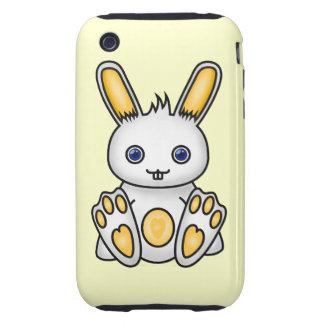 Kawaii Yellow Bunny iPhone 3 Tough Covers